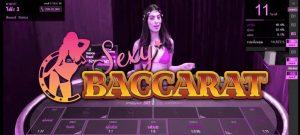 บาคาร่ากับสาวสวยที่ Sexy Baccarat