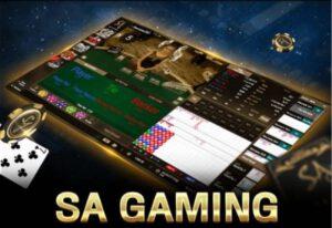 บาคาร่าแบบเซี่ยงไฮ้ของ SA Gaming